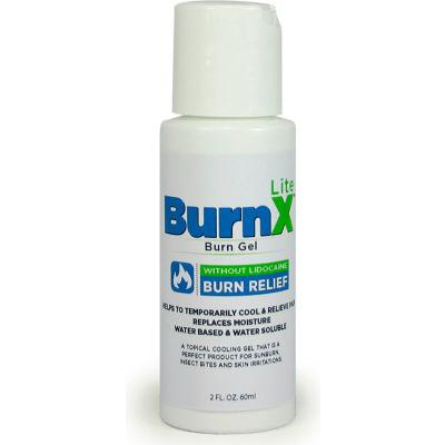 CoreTex® Burn X Lite 32763 Cool Gel Minor Burns & Sunburn, 2oz Bottle, Lidocaine Free, 1-Bottle - Pkg Qty 12