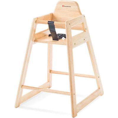 NeatSeat™ Restaurant Hardwood High Chair - Natural