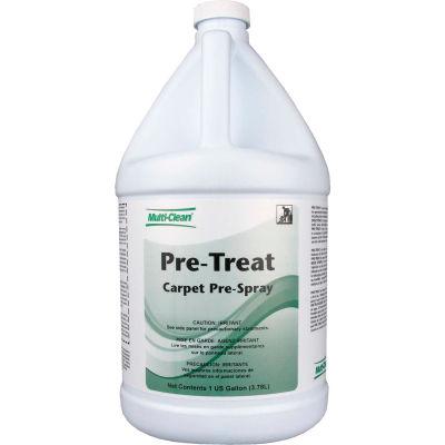 Multi-Clean® Pre-Treat Carpet Traffic Land Pre-Spray- Floral, Gallon Bottle, 4 Bottles - 902183