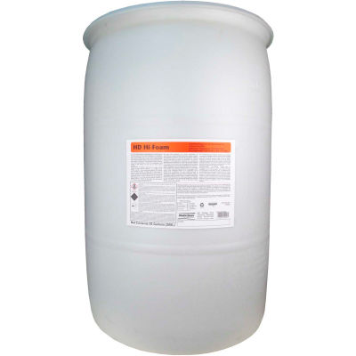 Multi-Clean HD Hi-Foam Food Service Degreaser - Unscented, 55 Gallon Drum, 1 Drum - 910927