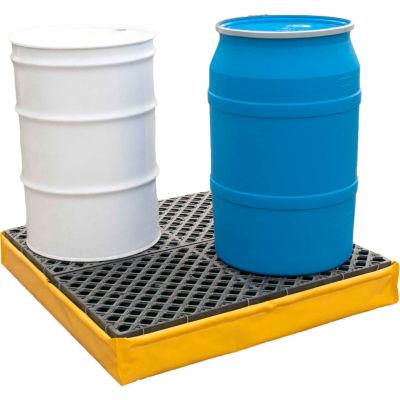 UltraTech Ultra-Spill Pallet® 1346 P4 Flexible Model with Drain