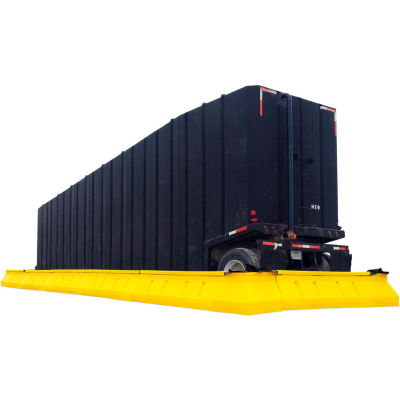 UltraTech 8791 Ultra-Containment Wall System®, 68' x 68' x 1', Yellow