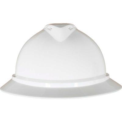 MSA V-Gard® 500 Hat Vented 6-Point Fas-Trac III, White - Pkg Qty 20