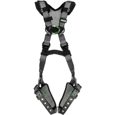 V-FIT™ 10194893 Harness, Back & Chest D-Rings, Tongue Buckle Leg Straps, Standard