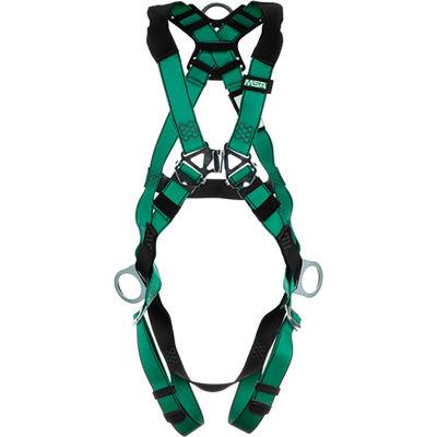 V-FORM™ 10197231 Harness, Back & Hip D-Rings, Qwik-Fit Leg Straps, Extra Large