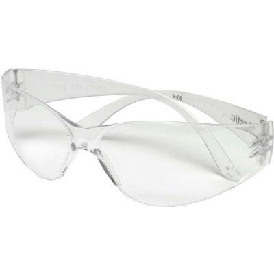 MSA 697514 Arctic Frameless Safety Glasses, Clear Lens, 1 Each - Pkg Qty 12