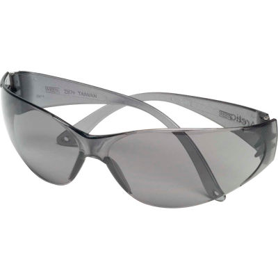 MSA 697515 Arctic Frameless Safety Glasses, Gray Lens, 1 Each - Pkg Qty 12
