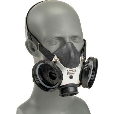 MSA Comfo Classic® Half-Mask Respirator, Medium, 808074