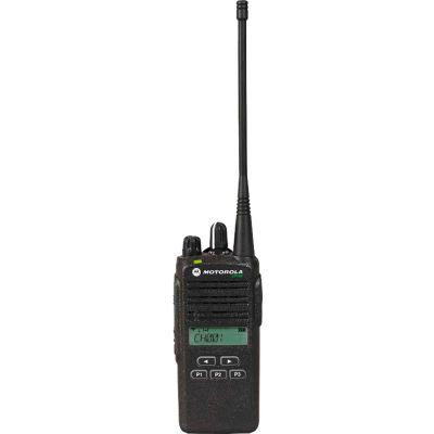 Motorola CP185 Two-Way Radio, 2-5 Watt, 16 Channel, Analog VHF 136-174 MHz