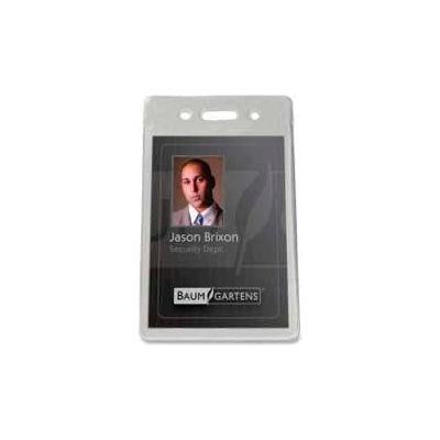 """Baumgartens® Proximity Badge Holder, Vertical, 2-3/8"""" x 3-1/2"""", 50/Pack"""