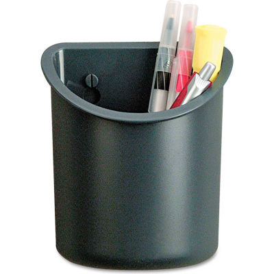 UniversalOne™ Cubicle Pencil Cup, Charcoal