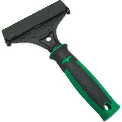 "Unger ErgoTec® Window Scraper, Green/Black, 4"" - SH00C"