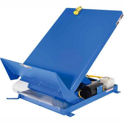 Unitilt Single Scissor Lift & Tilt Table 6000 Lb. Capacity UNI-5448-6-BLU-460-3