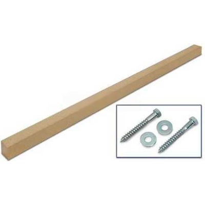"""United Visual Products 4""""W x 4""""D x 96""""H Single Sand Post and Hardware"""