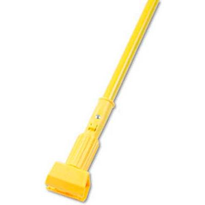 "60"" Aluminum Handle W/ 5"" Plastic Jaws Clamp, Yellow - UNS610 - Pkg Qty 12"