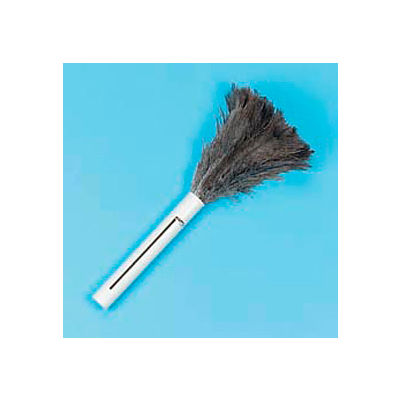 "9""-14"" Retractable Feather Duster W/ Black Plastic Handle - BWK914FD - Pkg Qty 12"