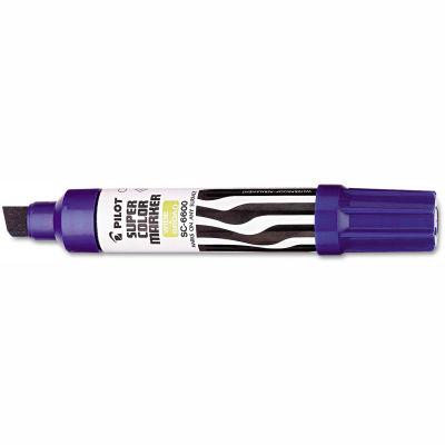 Pilot® Jumbo Refillable Permanent Marker, Chisel Tip, Blue