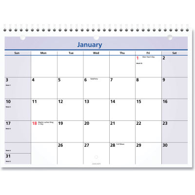 AT-A-GLANCE® QuickNotes Desk/Wall Calendar, 11 x 8, 2020
