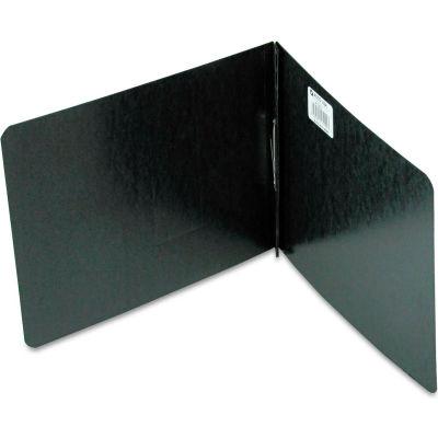 "ACCO Pressboard Report Cover, Prong Clip, Letter, 2"" Capacity, Black"