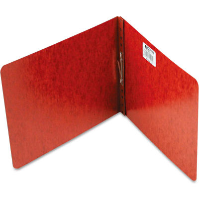 """ACCO Pressboard Report Cover, Prong Clip, Letter, 2"""" Capacity, Red"""