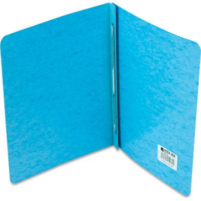 "ACCO Presstex Report Cover, Prong Clip, Letter, 3"" Capacity, Light Blue"