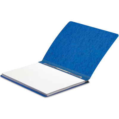 "ACCO Presstex Report Cover, Prong Clip, Letter, 3"" Capacity, Dark Blue"