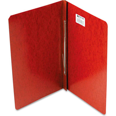 """ACCO Presstex Report Cover, Prong Clip, Legal, 3"""" Capacity, Red"""