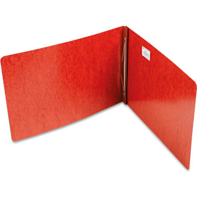 """ACCO Pressboard Report Cover, Prong Clip, 11 x 17, 3"""" Capacity, Red"""