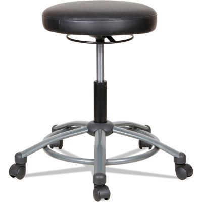 Alera® Height-Adjustable Utility Stool - Black