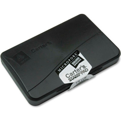 Carter's® Micropore Stamp Pad, 4 1/4 x 2 3/4, Black