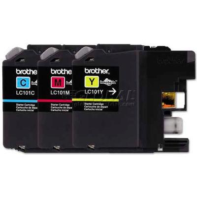 Brother® LC1013PKS, LC1013PKS Ink, 300 Page-Yield, Cyan, Magenta, Yellow, 3/Pk