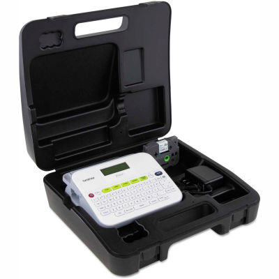 Brother® P-Touch® Versatile Label Maker w/Carrying Case, White