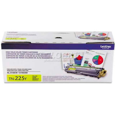 Brother® High-Yield Yellow Toner, 4000 Page Yield