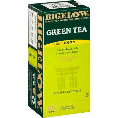 Bigelow® Green Tea with Lemon, Lemon, 0.34 lbs, 28/Box