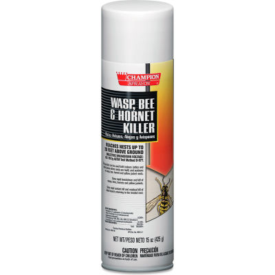 Chase Products Champion Sprayon Wasp, Bee & Hornet Killer, 15oz, Can, 12/Carton - CHP5108