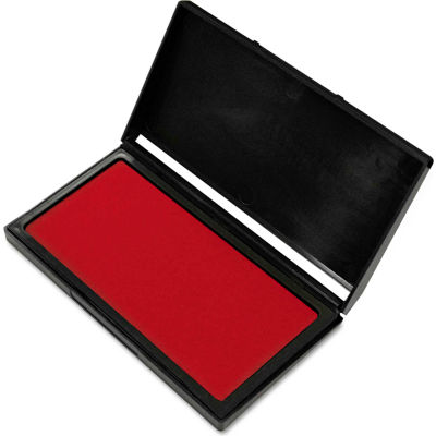 COSCO Microgel Stamp Pad for 2000 PLUS, 3 1/8 x 6 1/6, Red