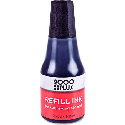 2000 PLUS® 2000 PLUS Self-Inking Refill Ink, Black, .9 oz. Bottle