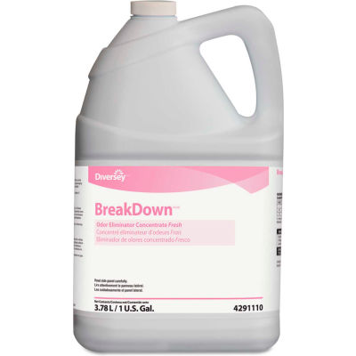 Diversey™ Butcher's Odor Eliminator Fresh Scent, Gallon Bottle 4/Case - DVO4291110