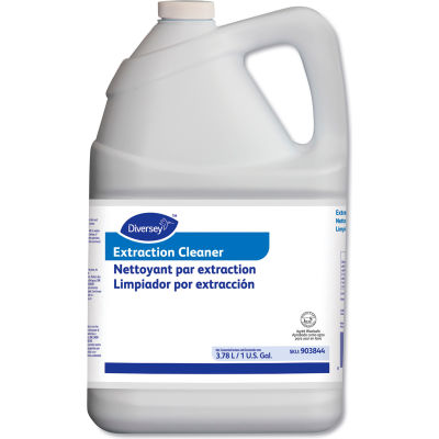 Diversey Carpet Extraction Cleaner, Gallon Bottle, 4 Bottles - 903844