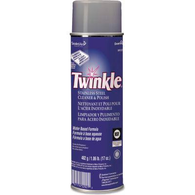 Twinkle® Stainless Steel Cleaner & Polish, 17oz Aerosol 1/Case - DVO91224EA