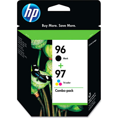 HP 96; HP 97 Tri-Color 2-pack Original Ink Cartridges