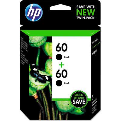 HP 60 2-pack Black Original Ink Cartridges