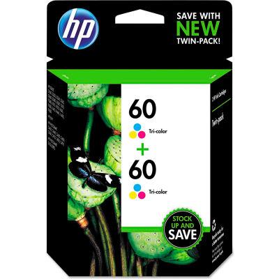 HP 60 2-pack Tri-color Original Ink Cartridges