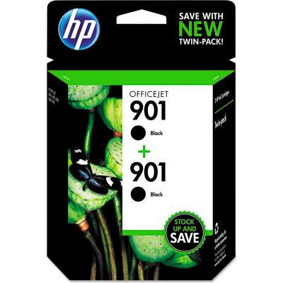 HP 901 2-pack Black Original Ink Cartridges