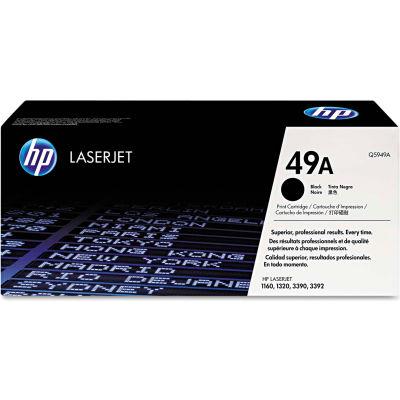HP 49A Black Original LaserJet Toner Cartridge