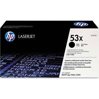 HP 53X High Yield Black Original LaserJet Toner Cartridge