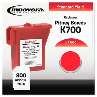 Innovera® 7970 Ink Cartridge, 800 Page Yield, Red