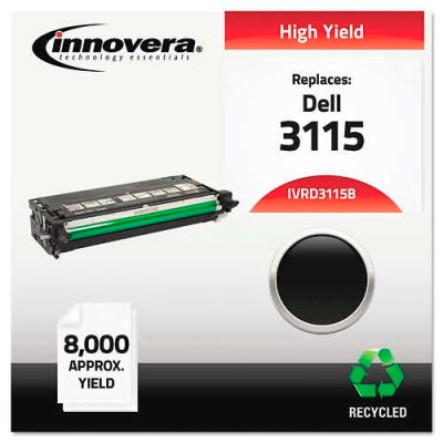 Innovera® D3115B High-Yield Toner Cartridge, 8000 Page Yield, Black