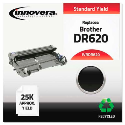 Innovera® DR620 Drum Unit, 25000 Page Yield, Black