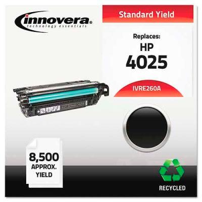 Innovera® E260A Compatible, Remanufactured, CE260A (260A) Laser Toner, 8500 Yield, Black